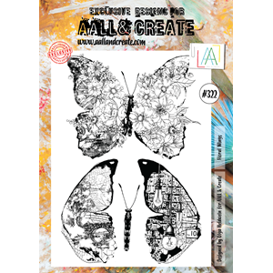 AALL&Create  #322 - A4 Stamps