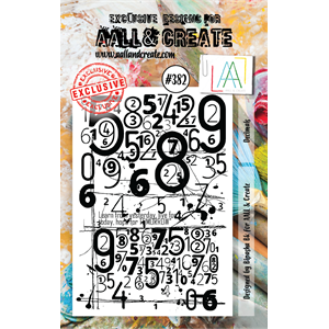 AALL&Create  #382- A7 Stamp