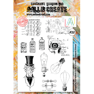 AALL&Create  #387 - A4 Stamps