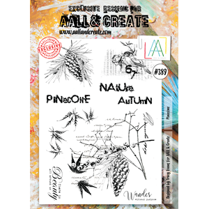 AALL&Create  #389 - A4 Stamps