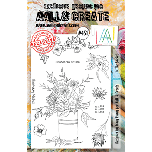 #451 - A5 Stamps - AALL & CREATE