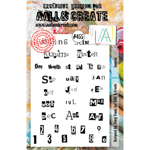 #455 - A5 Stamps - AALL & CREATE