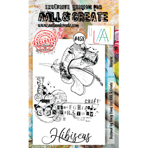 #458 - A6 Stamps - AALL & CREATE