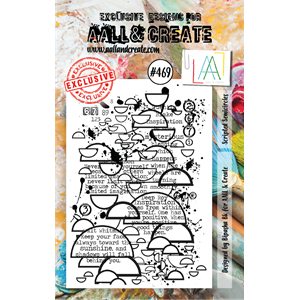 #469 - A7 Stamps - AALL & CREATE