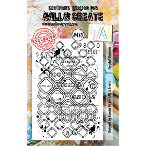 #470 - A7 Stamps - AALL & CREATE