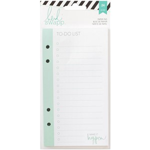 Paper Pad - HS - Memory Planner - To Do List - 24 Sheets