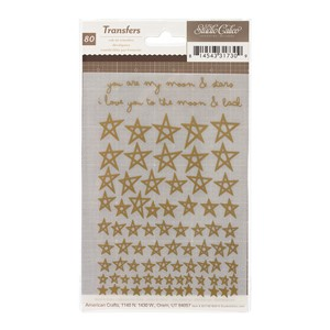 Rub-Ons - SC - Printshop - Stars - Gold