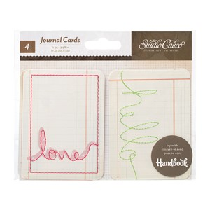 Journaling Cards - SC - Printshop - Stitched Journal Cards