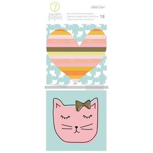 Handbook - SC - Baxter - Journaling Cards - 4 x 4 - Cats 18