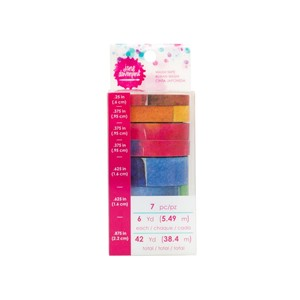 Washi Tape - JD   - Washi Rolls Palette 7 piece