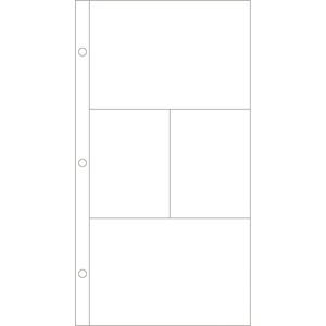 Photo Pocket Pages - Design H - 12 pack