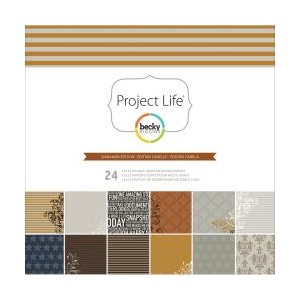 12x12 Designer Paper Collection Pack - Cinnamon Edition - 24