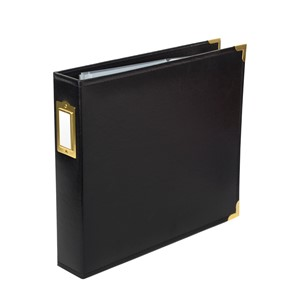 Albums - 12x12 - Classic - Gold Hardware - Black