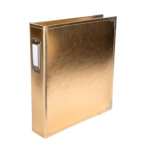 Project Life - Albums - Classic Leather - 6 x 8 - Gold Incl