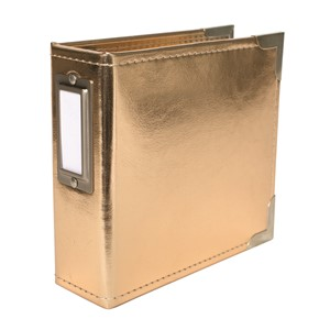 Project Life - Albums - Classic Leather - 4 x 4 - Gold Incl
