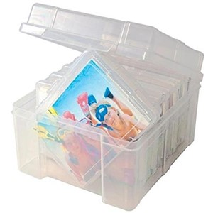 Photo Keeper Box w/6 Clear Cases
