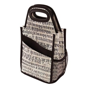 Spinning Tote - Typography