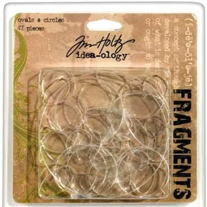 Tim Holtz, Fragments- Ovals-Circles