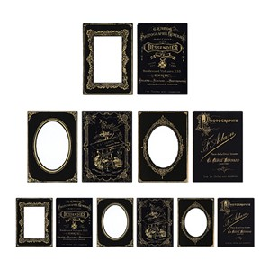 Tim Holtz - Mini Cabinet Cards, Sophisticate