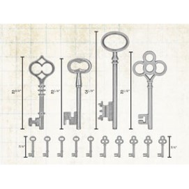Tim Holtz - Adornments, Keys