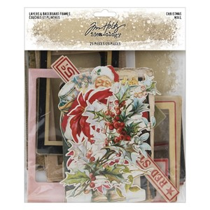 """Idea-ology Tim Holtz Layers & Baseboard Frames Christmas (2"
