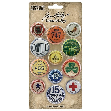 """Idea-ology Tim Holtz Vintage Flair (TH94027) Tim Holtz Vint"