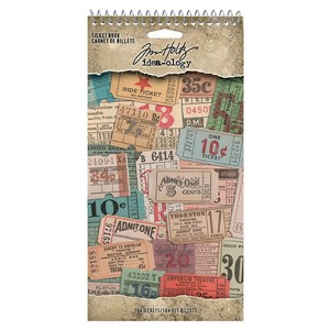 """Idea-ology Tim Holtz Ticket Book (TH94036) Tim Holtz Ticket"