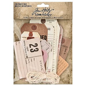 """Idea-ology Tim Holtz Salvaged Tags (TH94048) Tim Holtz Salv"