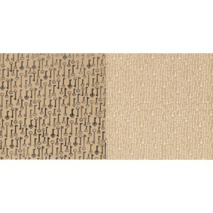 """""""12x12"""""""" Passkey - 25 Two-sided heavy-weight textured ca"