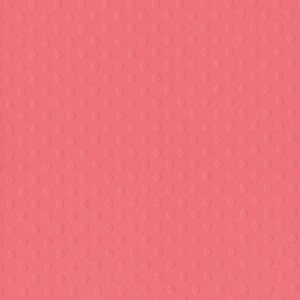 Cardstock - Dotted Swiss - BB - 12 x 12 - Coral Reef
