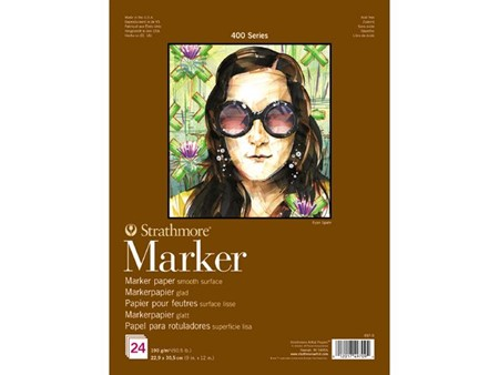 Strathmore Marker Paper Pad (497-9)