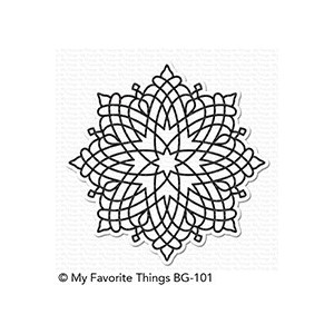 Captivating Mandala Background Stamp (BG-101)