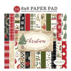 Christmas 6x6 Inch Paper Pad (CBCH89023)