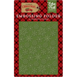 Embossing Folder Snow Flurry (CCH159031)