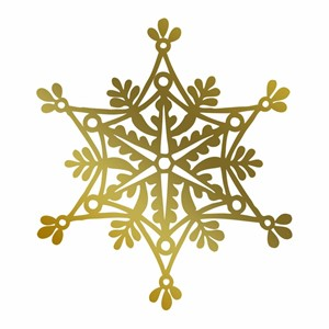 Anna Griffin Snowflake Hotfoil Stamp
