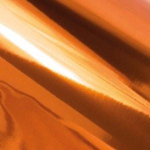 Heat Activated Foil Copper Mirror Finish