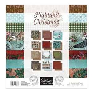 Highland Christmas 12x12 Inch Paper Pack (CO726272)