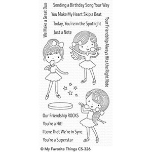 Friendship Rocks Clear Stamps (CS-326)