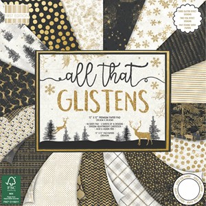 First Edition All That Glistens 12x12 Inch Paper Pad (FEPAD1