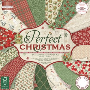 First Edition Perfect Christmas 12x12 Inch Paper Pad (FEPAD1