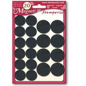 Stamperia Magnets 20 pcs. (KGC01) Magnets 20 pcs. (KGC01)