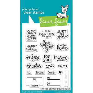 Lawn Fawn Tiny Tag Sayings (LF1222)