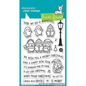 Here We Go A-Waddling Clear Stamps (LF1468)