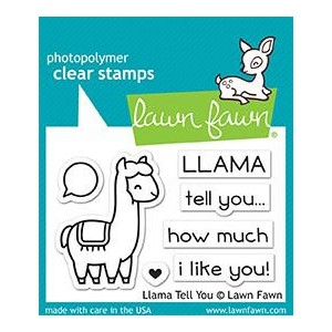 Llama Tell You Clear Stamps (LF1678)
