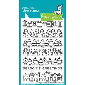 Simply Celebrate Winter Clear Stamps (LF1769)