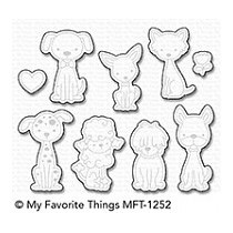 My Favorite Things Puppy Kisses Die-Namics (MFT-1252)