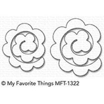Mini Rolled Roses Die-Namics (MFT-1322)