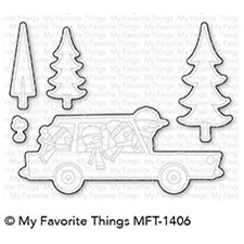 My Favorite Things Cool Christmas Die-Namics (MFT-1406)