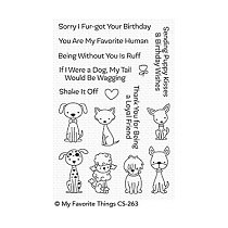 My Favorite Things Puppy Kisses Clear Stamps (CS-263)