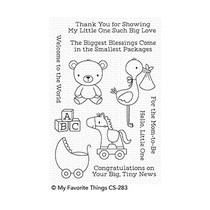 Hello, Little One Clear Stamps (CS-283)
